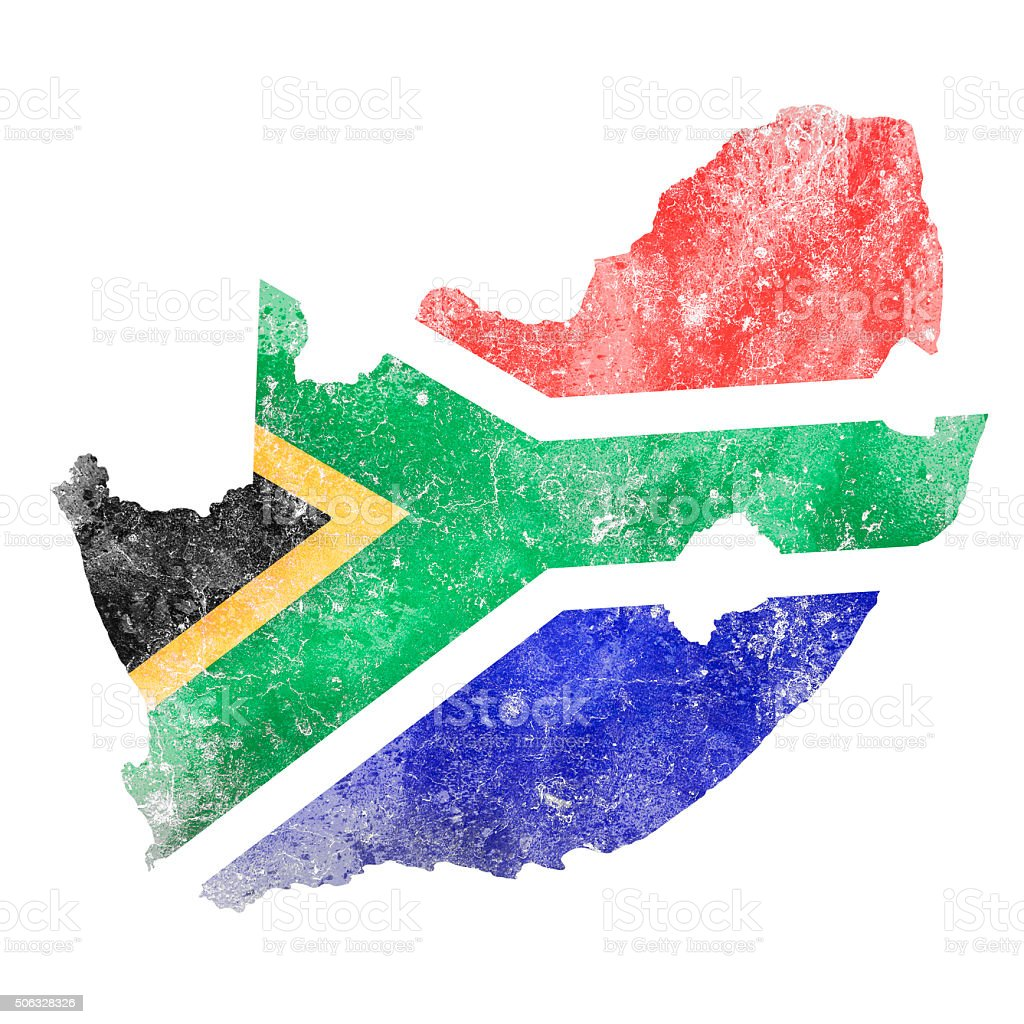 South Africa vector art illustration