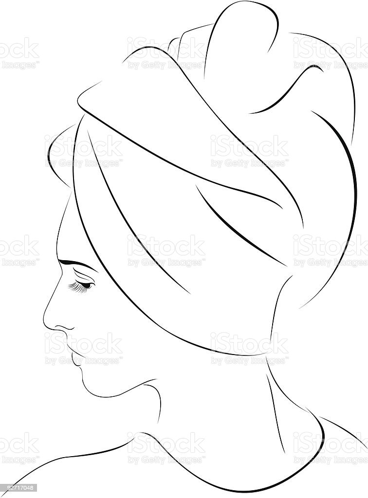 spa women royalty-free stock vector art
