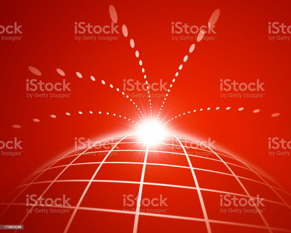 Space Abstract XL+ royalty-free stock photo