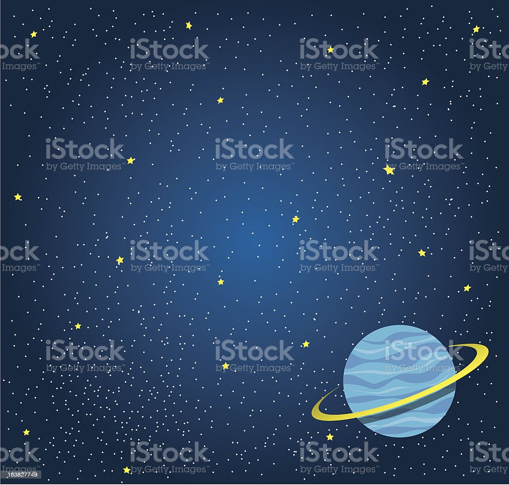 Space background royalty-free stock vector art