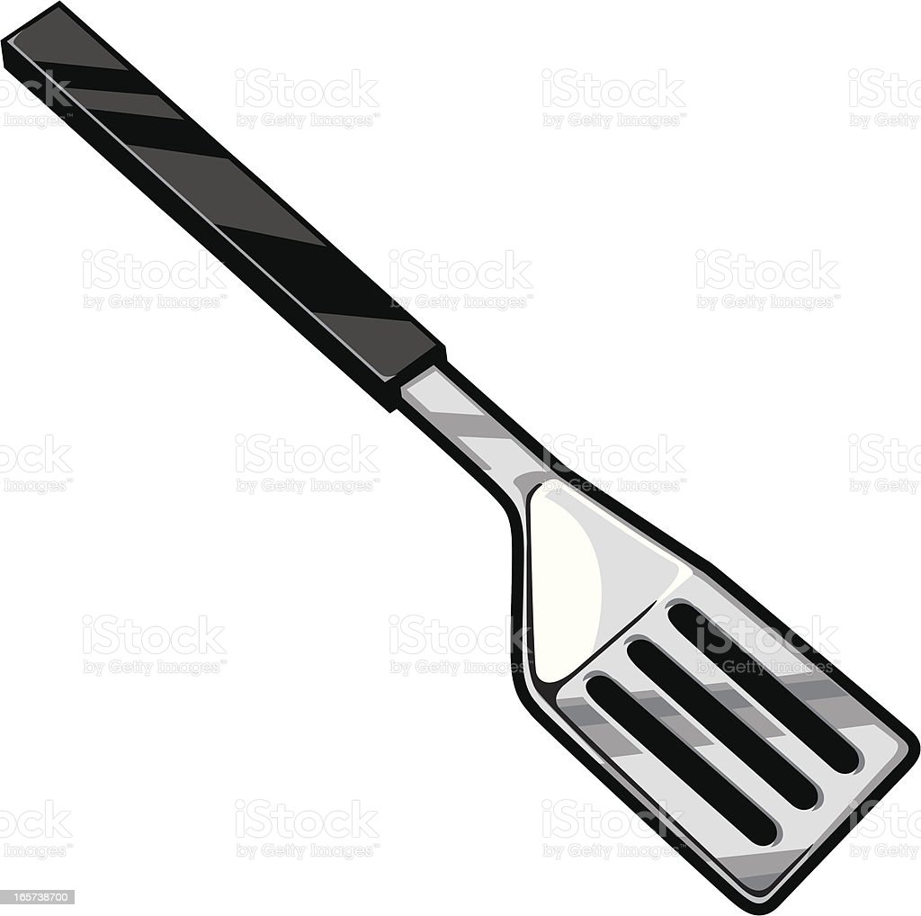 spatula vector art illustration