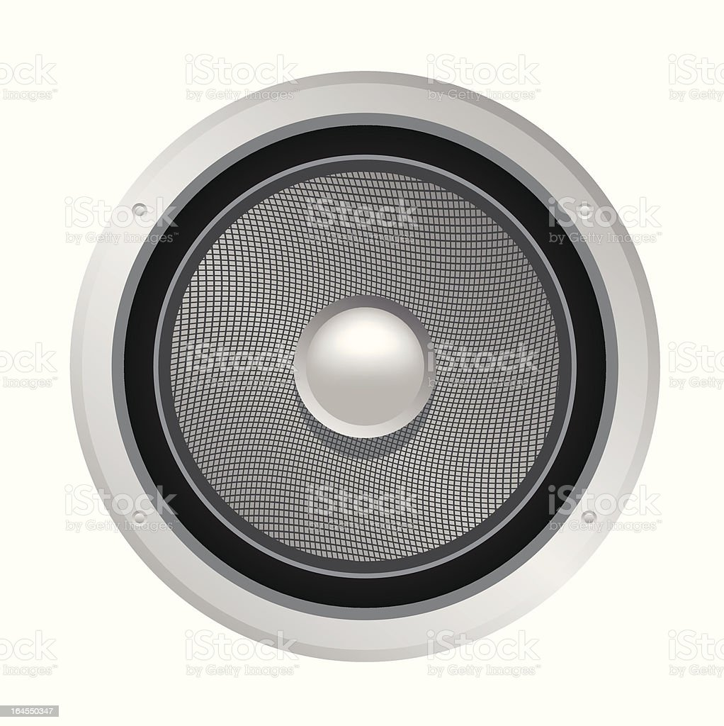 Speaker vector art illustration