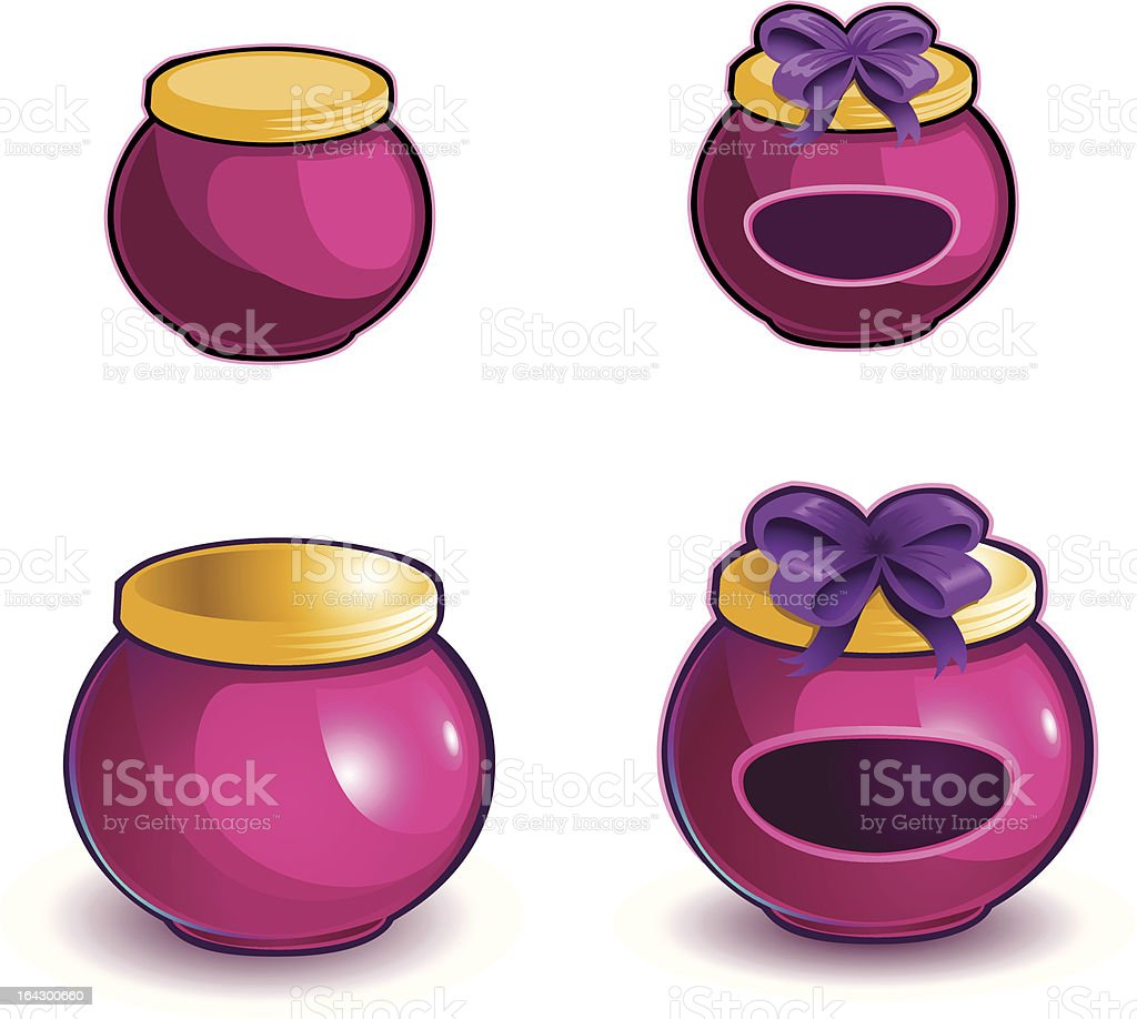 Specialty Jar royalty-free stock vector art
