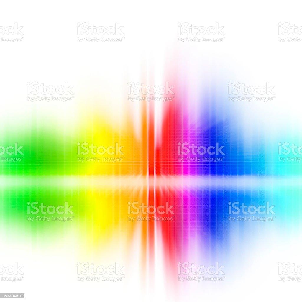 Spectrum vector art illustration