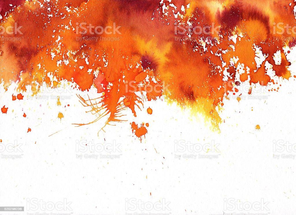 splattered vector art illustration