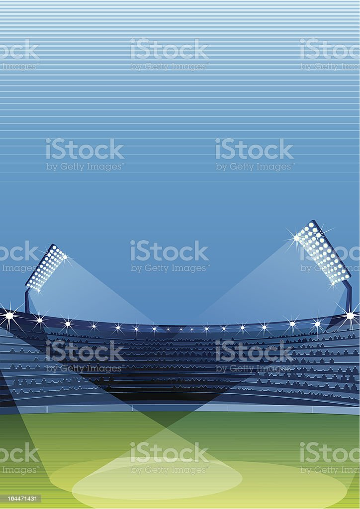 Sport Stadium royalty-free stock vector art