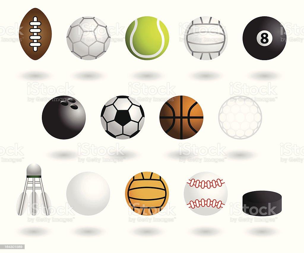 sports equipment royalty-free stock vector art