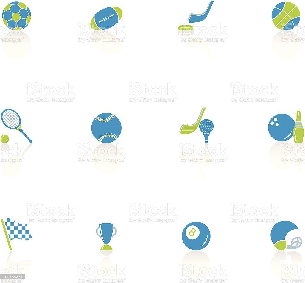 Sports Icon Set royalty-free stock vector art