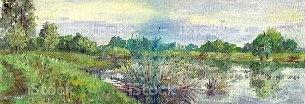 Image result for spring floods in painting