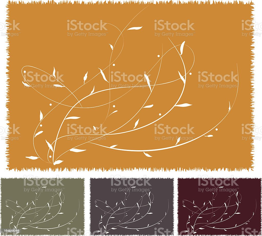 spring leafage royalty-free stock vector art