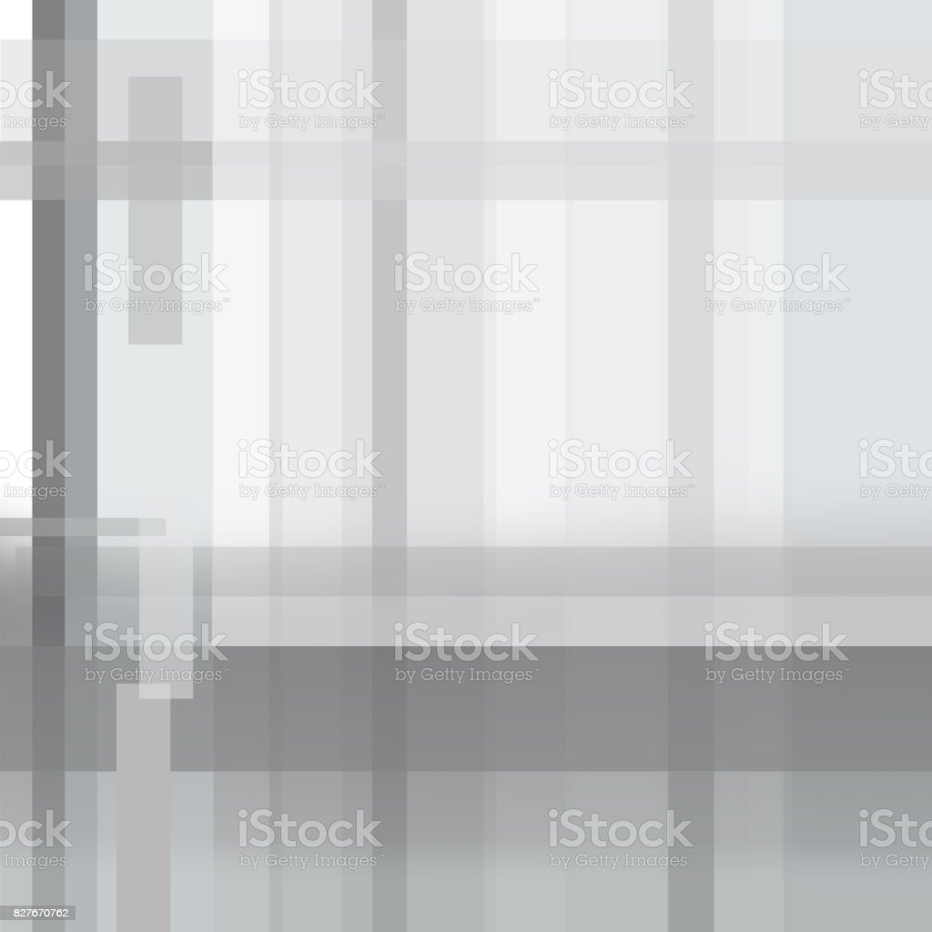 Square geometric abstract background with text place. Gray striped  pattern. Cover layout of technology design. Modern template for brochures, books, magazines, leaflets, booklets, posters, flyers, portfolio, annual reports, presentations vector art illustration