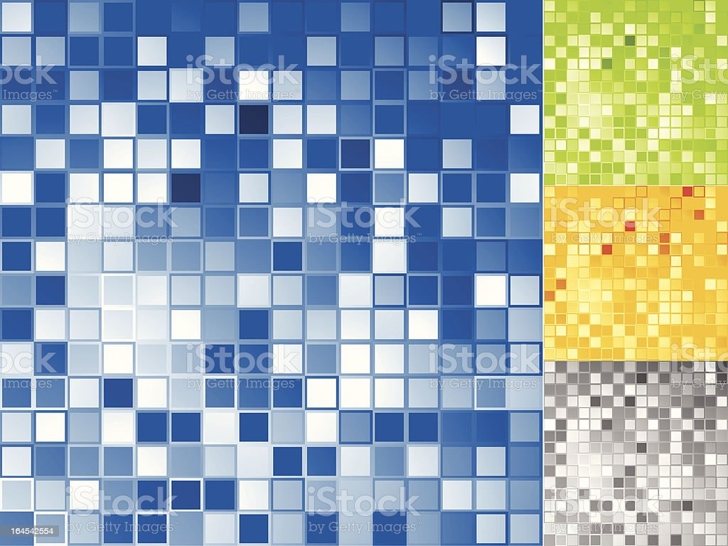 Square tiles royalty-free stock vector art