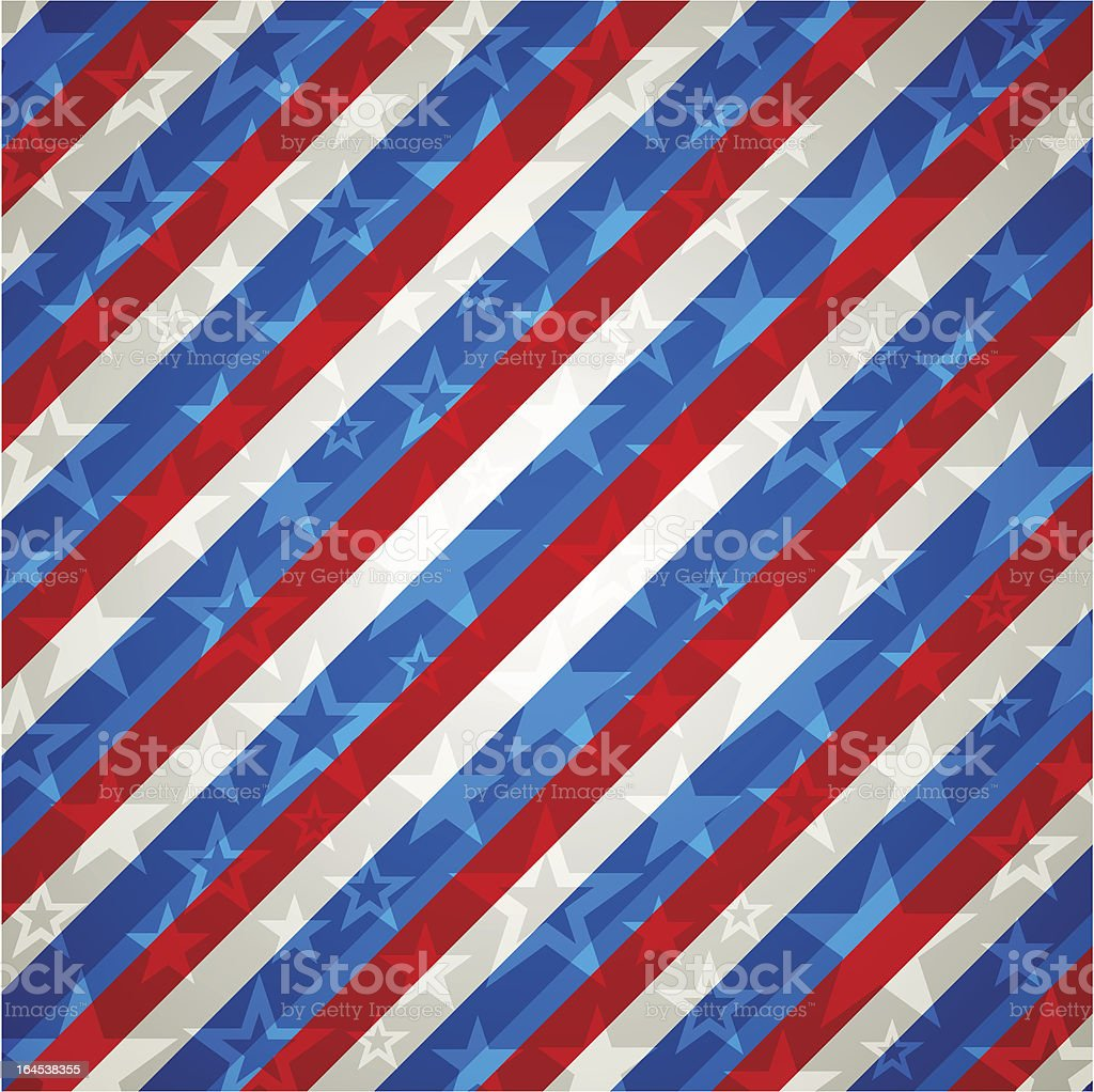 square usa background with stars. royalty-free stock vector art