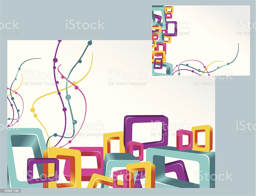 squares royalty-free stock vector art