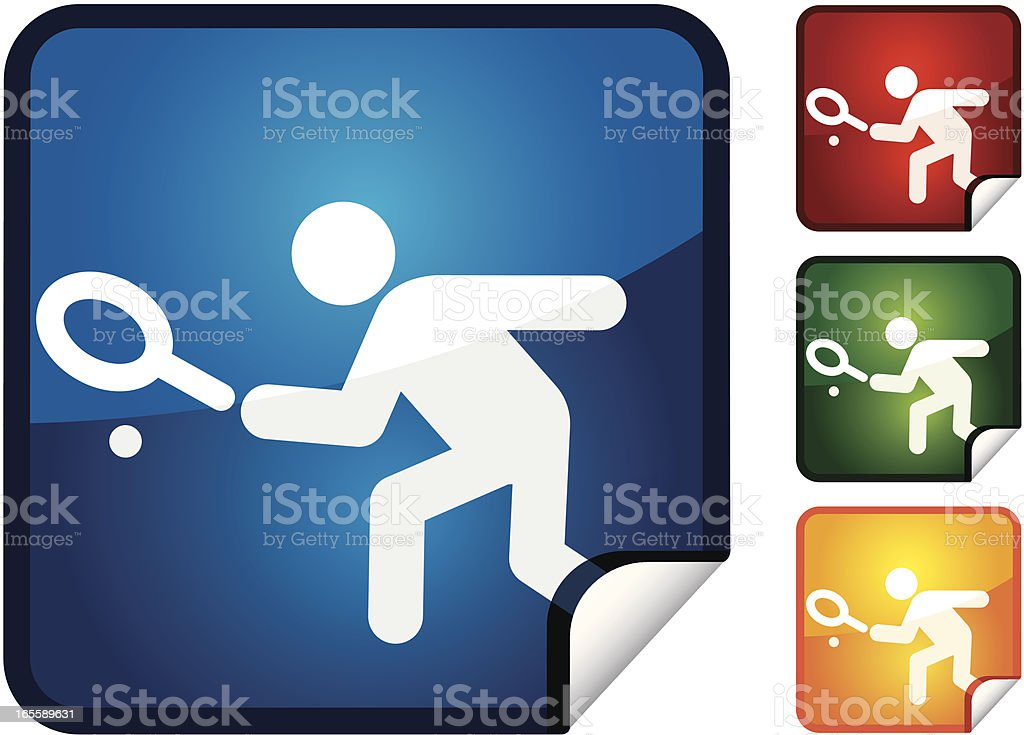Squash | Sticker Collection royalty-free stock vector art