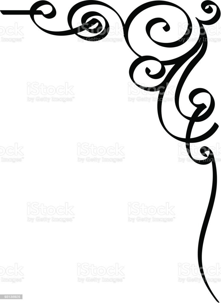 squiggle10 royalty-free stock vector art