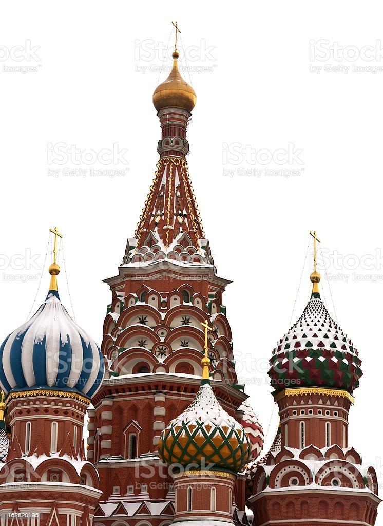 St. Basil's Cathedral, tourism travel destination vector art illustration