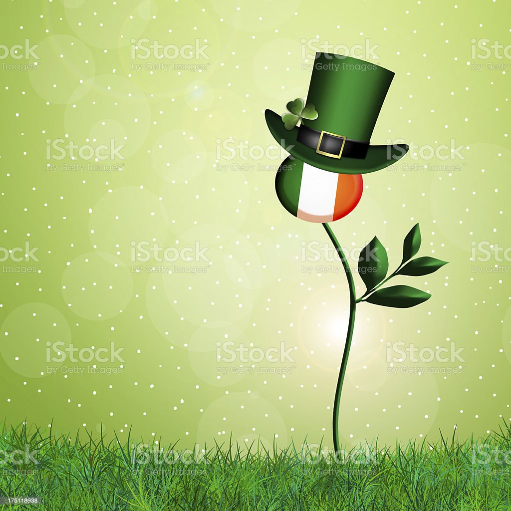 St. Patrick's Day royalty-free stock vector art