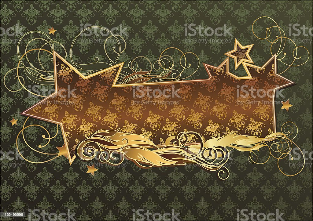 Star tag royalty-free stock vector art