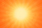 Starburst Orange Light Beam Abstract Background