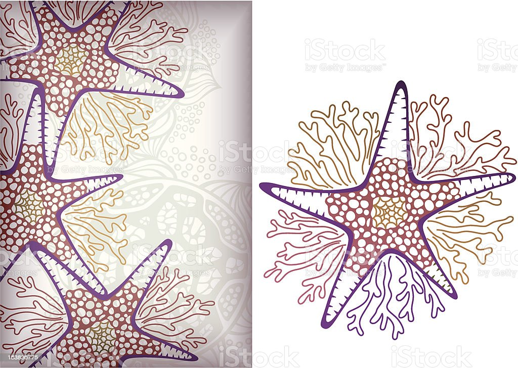 Starfish royalty-free stock vector art