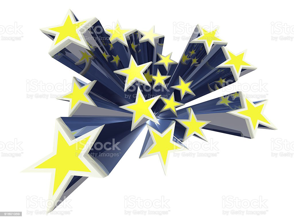 Stars royalty-free stock vector art