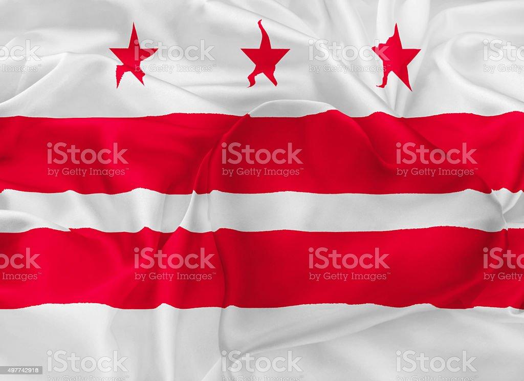 State Flag of Washington vector art illustration