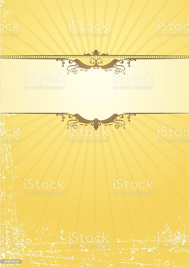 Stationery Grunge Motif royalty-free stock vector art