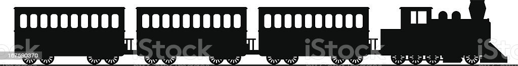 steam train royalty-free stock vector art