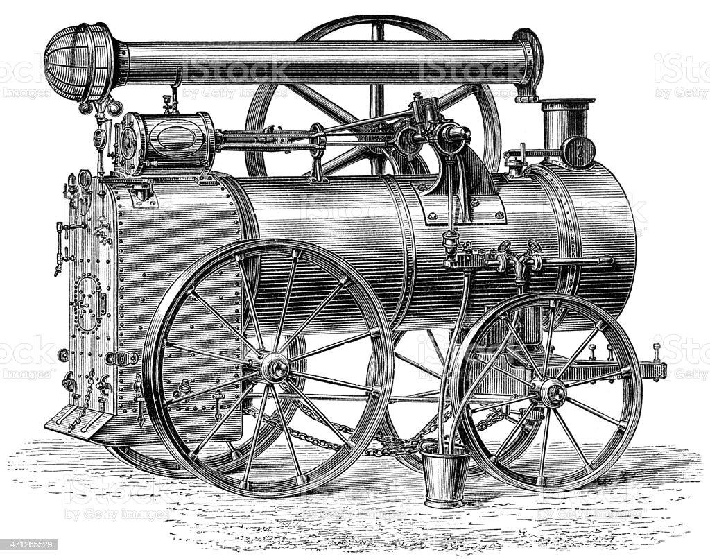 steam-engine royalty-free stock vector art
