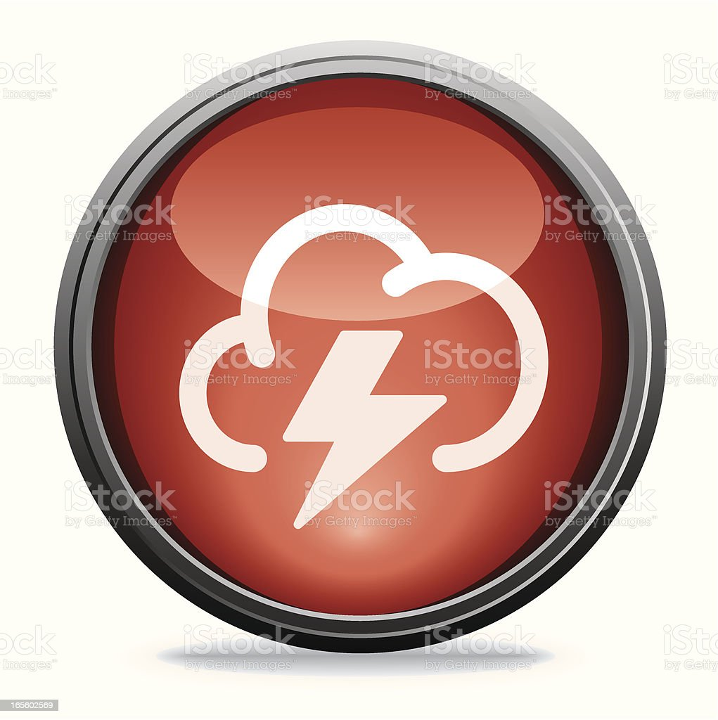 Storm | Glass Collection royalty-free stock vector art