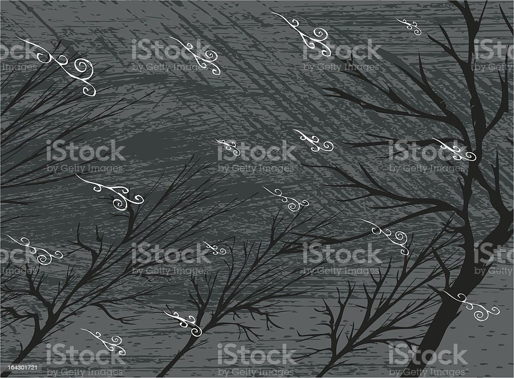 storm! royalty-free stock vector art