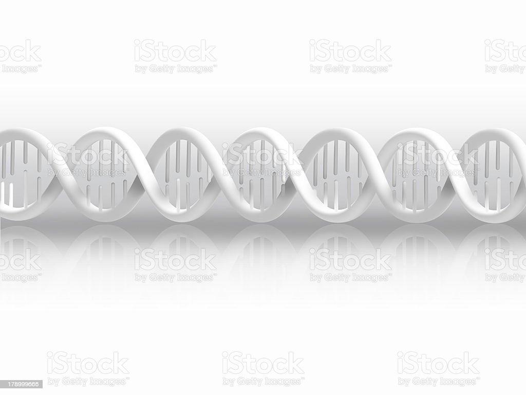 DNA strand royalty-free stock vector art