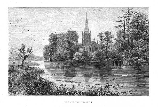 Stratford Upon Avon Clip Art, Vector Images & Illustrations - iStock