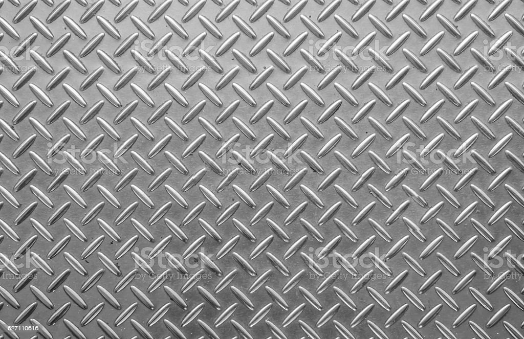 Striped steel plate Closeup vector art illustration