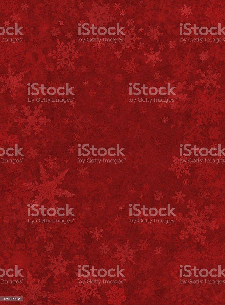 Subtle Red Snow Background vector art illustration