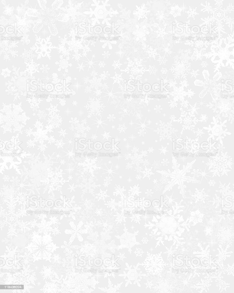 Subtle Snow Background vector art illustration