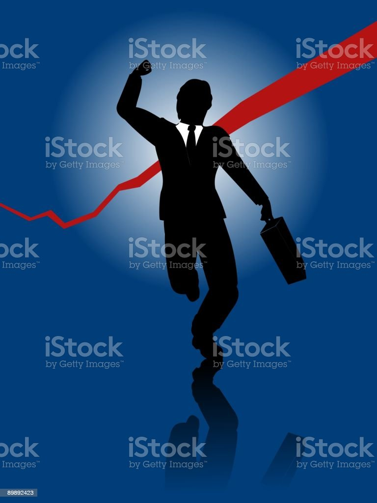 success royalty-free stock vector art