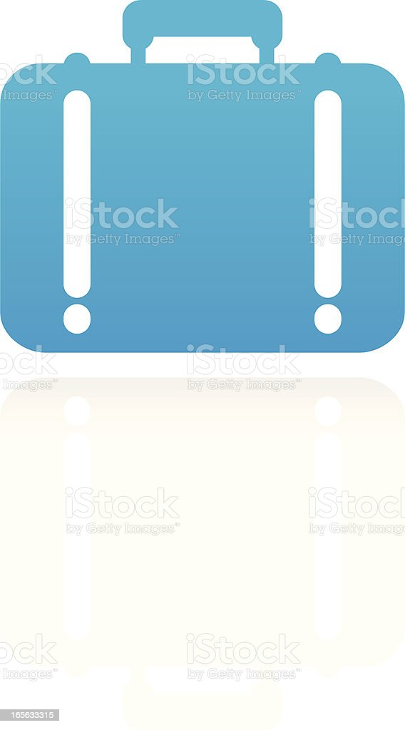 Suitcase royalty-free stock vector art