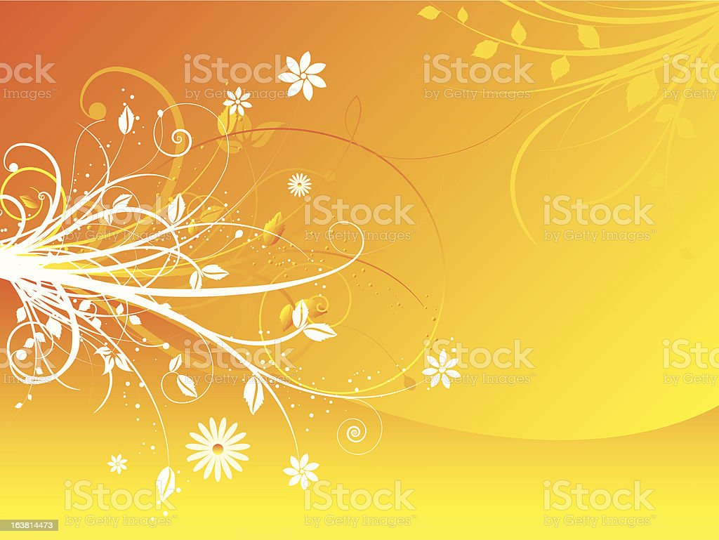 Summer abstract royalty-free stock vector art