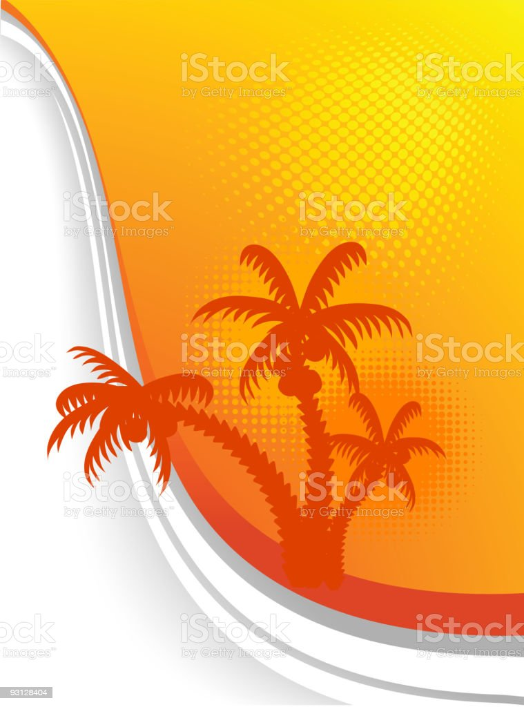 Summer background. royalty-free stock vector art
