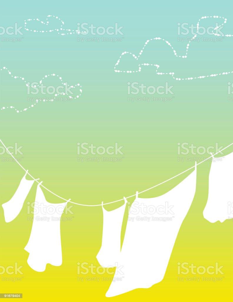 Summer Breeze vector art illustration