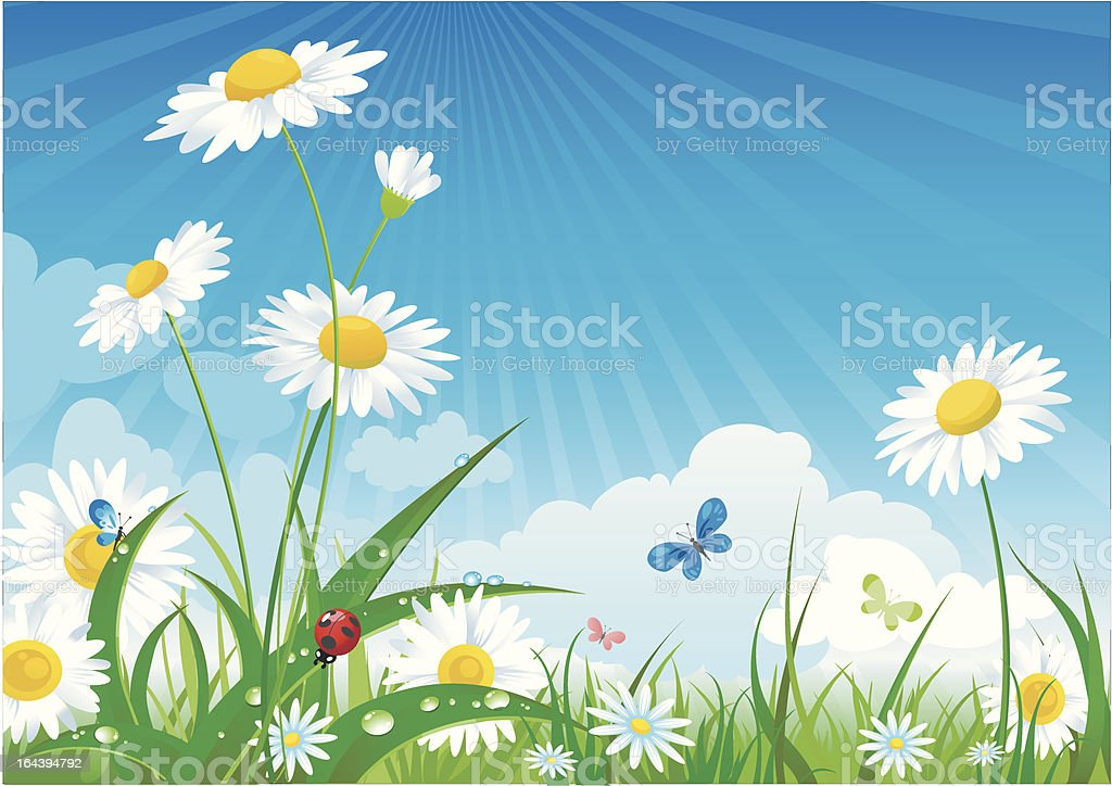 summer day royalty-free stock vector art