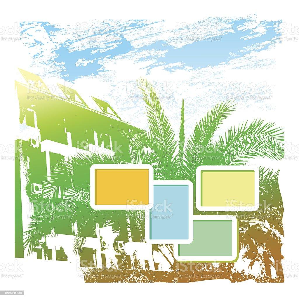 Summer poster royalty-free stock vector art