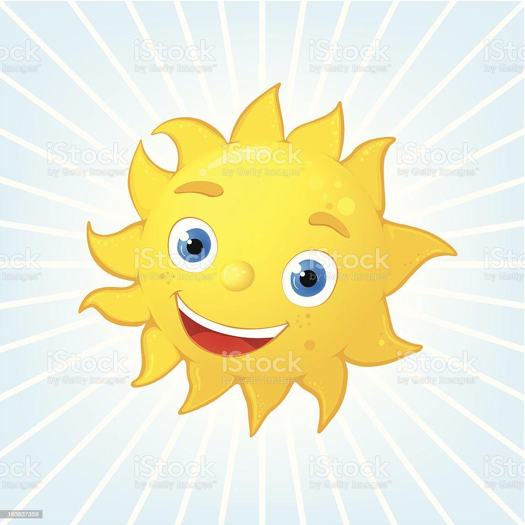Summer Sun royalty-free stock vector art