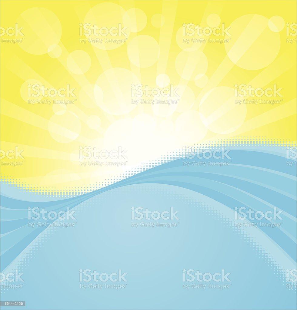 Summertime! royalty-free stock vector art