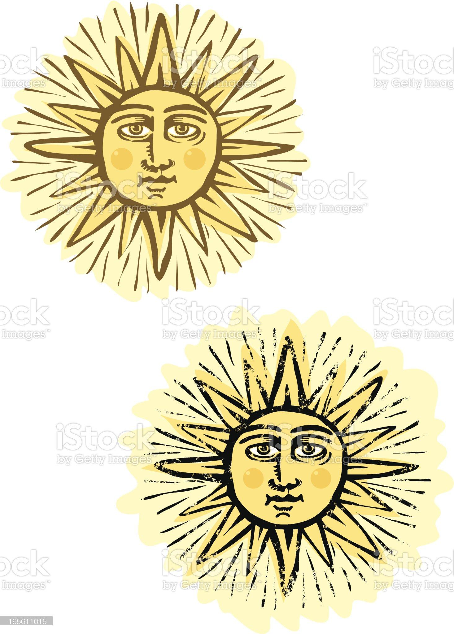 Sunny royalty-free stock vector art