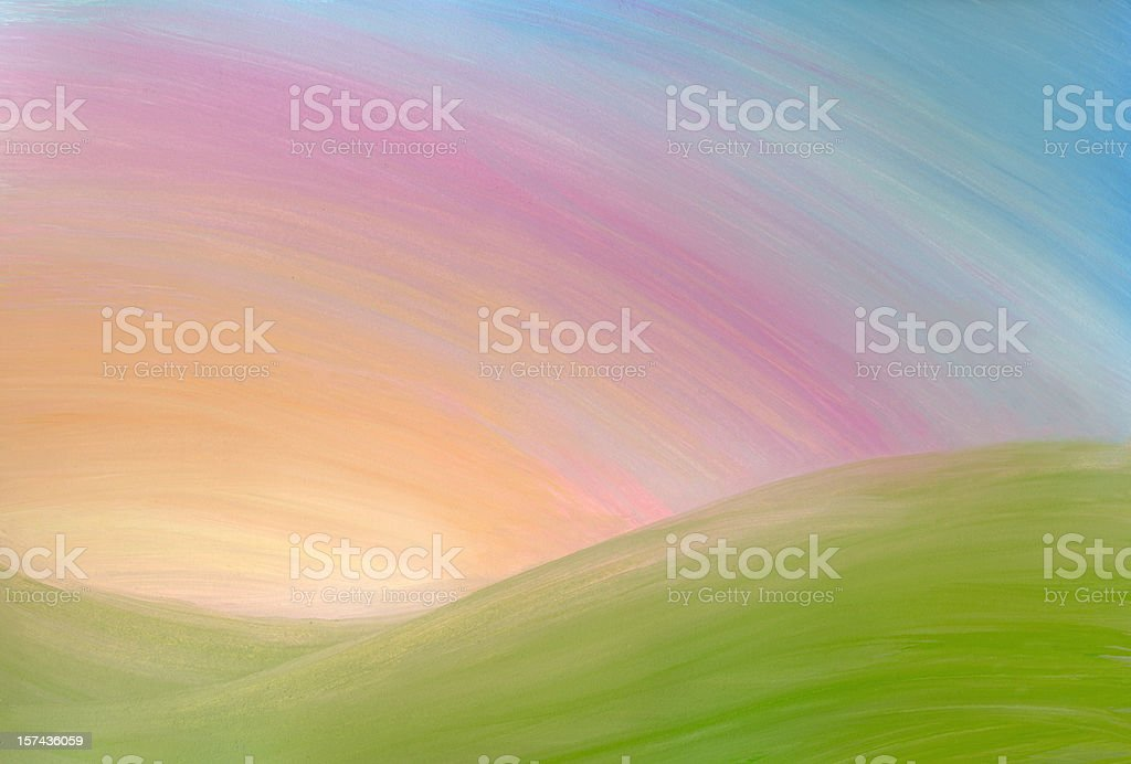 sunrise background royalty-free stock vector art