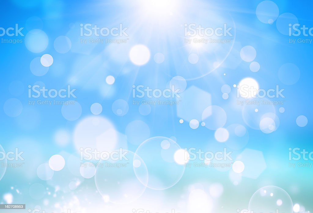 Sunshine Bokeh royalty-free stock vector art