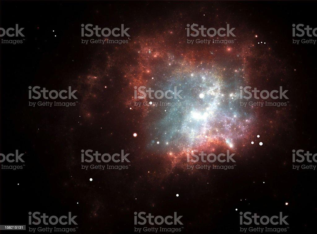 Supernova Explosion royalty-free stock vector art